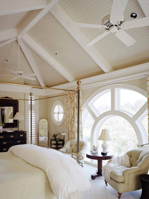 Master Bedroom Slanted Ceiling | Houzz