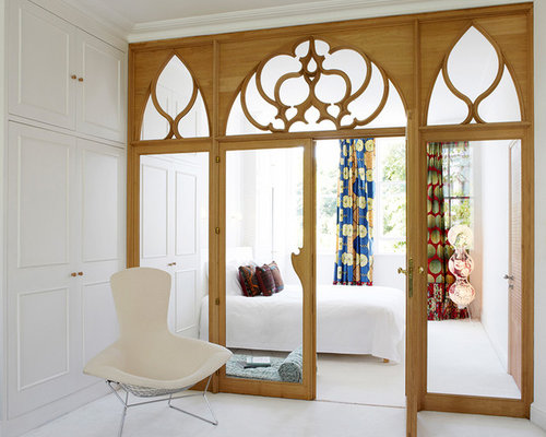 Bedroom Door Curtains Ideas, Pictures, Remodel and Decor