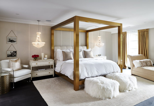 Transitional Bedroom by Buena Vista Development Corp