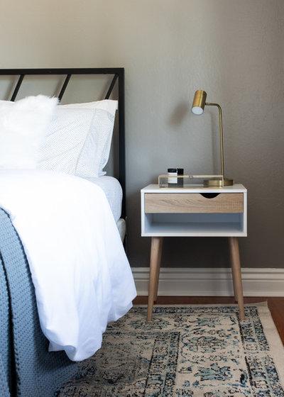 Transitional Bedroom by Studio Revolution