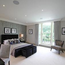 Contemporary Bedroom by Alexander James Interiors