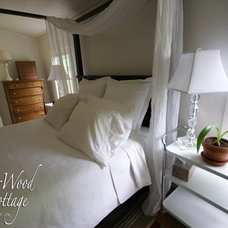 Eclectic Bedroom WhisperWood Cottage