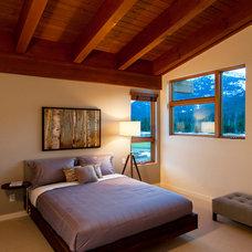 Contemporary Bedroom by Maza Interior Design