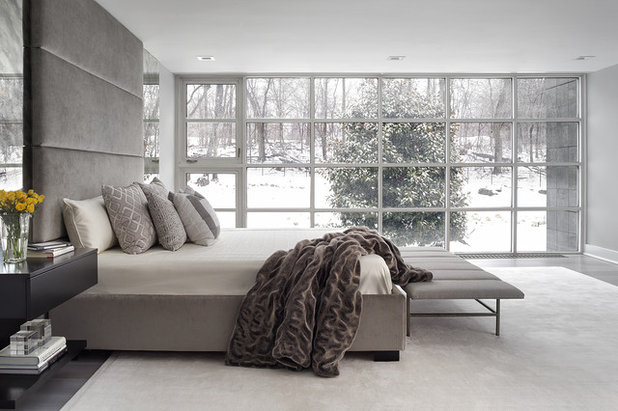 Contemporary Bedroom by Jennifer Pacca Interiors
