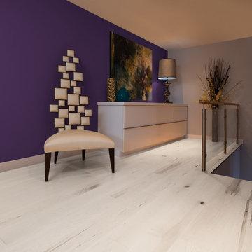 White & Light Hardwood Flooring