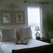 Contemporary Bedroom by Wanda Elaine
