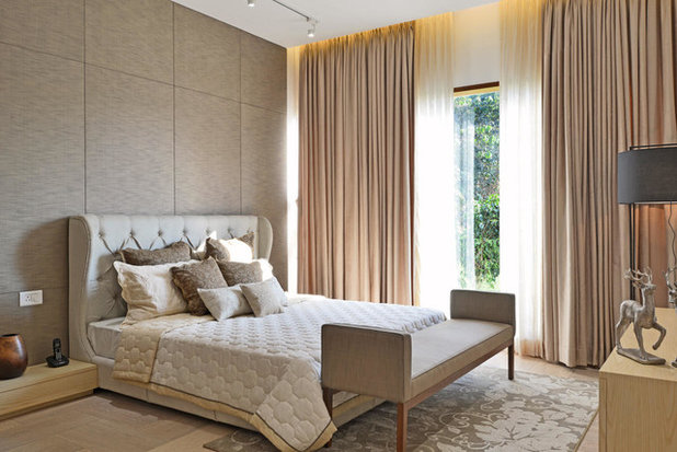 Modern Bedroom by KRISHNAN+PARVEZ+architects