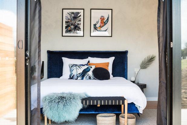 Contemporary Bedroom by Lydia Maskiell Interiors