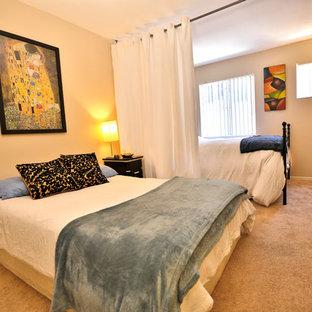 Exemple d'une chambre moderne.