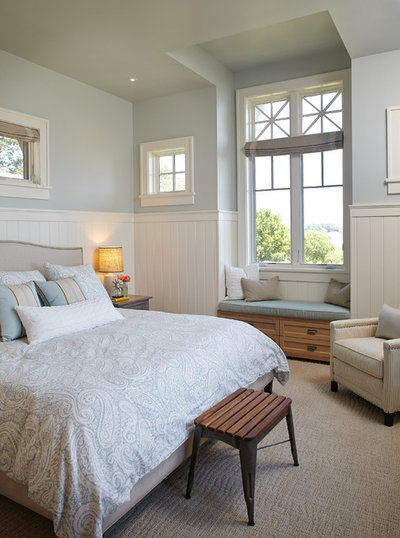 Beach Style Bedroom by Francesca Owings Interior Design