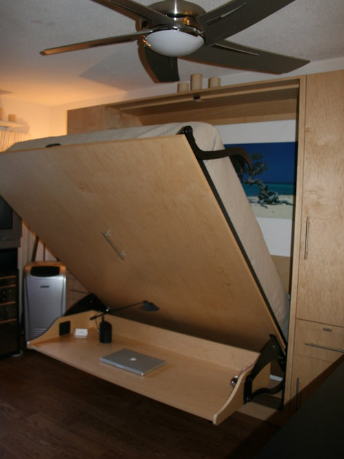 Murphy bed desk ideas pictures remodel and decor - Searching for a contemporary murphy beds ...
