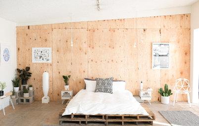 Gør det selv: Lav en trendy og rustik seng af paller