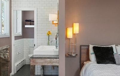 Eine Dachgaube schafft Platz für ein En-Suite-Bad