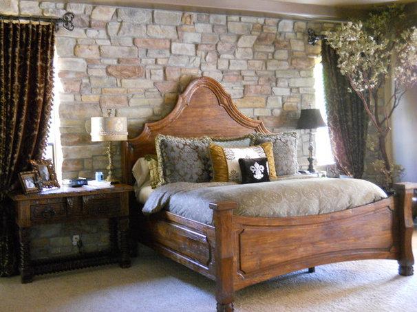 Mediterranean Bedroom by Puerta Bella Interior Design