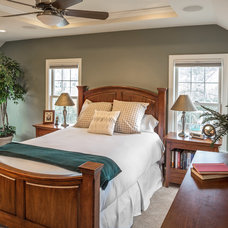 Transitional Bedroom by S.J. Janis Company, Inc.