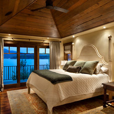 Rustic Bedroom by Hunter and Company Interior Design