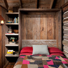 Rustic Bedroom by Montana Creative architecture + design