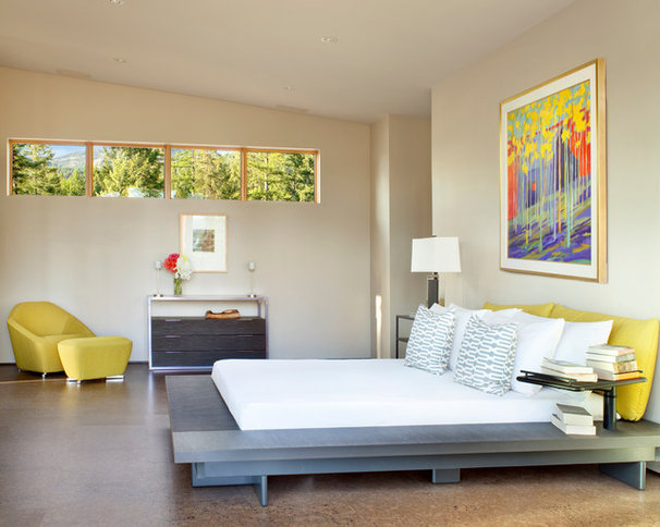 Contemporary Bedroom by CTA Architects Engineers