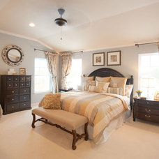 Traditional Bedroom by Mary Cook