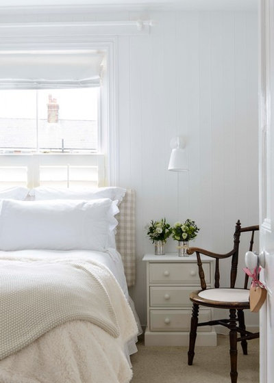 Coastal Bedroom by Whitstable Island Interiors