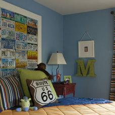 Contemporary Bedroom by Whittington Design Studio