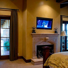Eclectic Bedroom by Next Electronic Systems, Inc