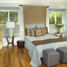 Contemporary Bedroom by Susan M. Davis