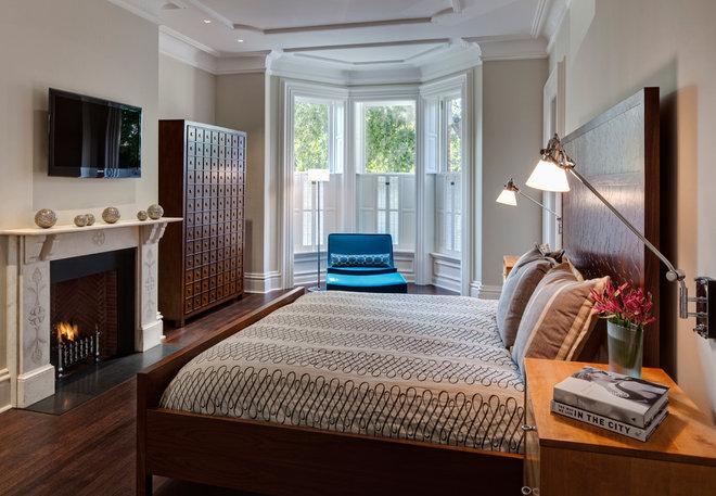 Contemporary Bedroom by Buckingham Interiors + Design LLC