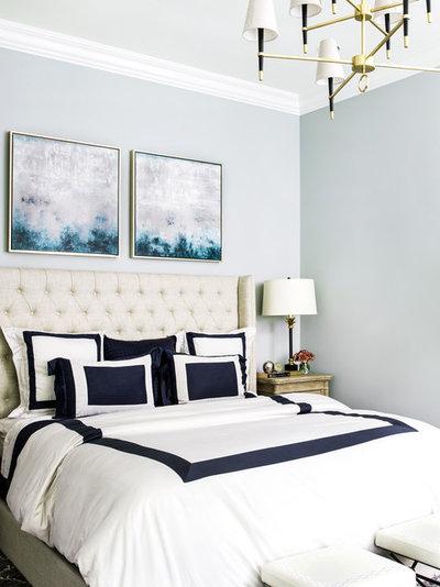 Transitional Bedroom by Cynthia Lynn Photography