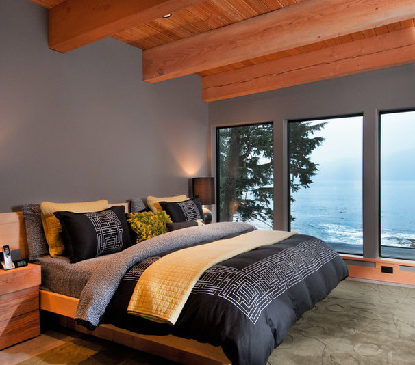 Contemporary Bedroom by Leanna Rathkelly Photography
