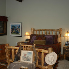 Traditional Bedroom by Legends West Reclaimed Lumber