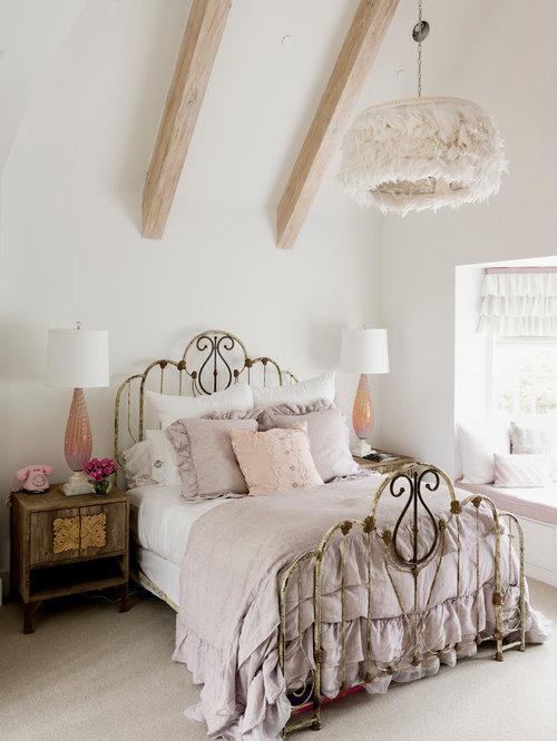 Shabby-Chic-Style Schlafzimmer mit Teppichboden - Ideen & Design ...