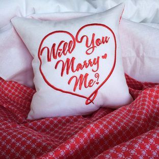 Will You Marry Me Pillow {10 inch}