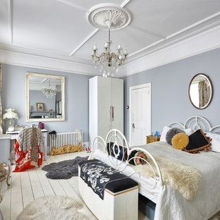 Bon Inspiration For A Large Victorian Master Bedroom In London.