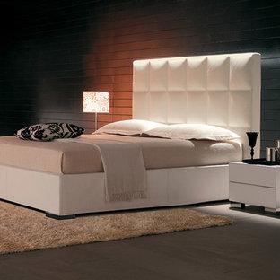 Bedroom - modern bedroom idea in New York