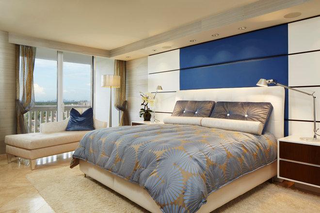 Contemporary Bedroom by Arnold Schulman Design Group