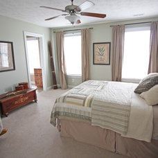 Transitional Bedroom by Sara Ballinger - 1130 Creative, LLC