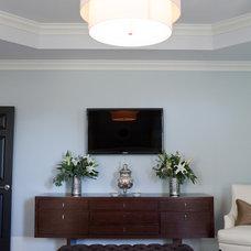 Traditional Bedroom by Amanda Austin Interiors