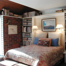 Eclectic Bedroom by Best Price Stagers