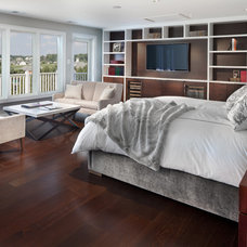 Transitional Bedroom by Morgan Howarth Photography