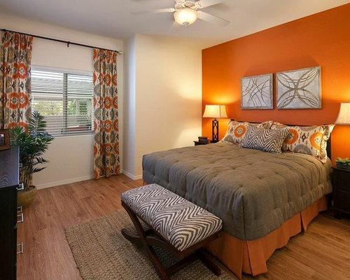 Transitional bedroom design ideas remodels photos with for Transitional bedroom