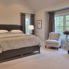 Traditional Bedroom by Priscilla Fenlin Interiors