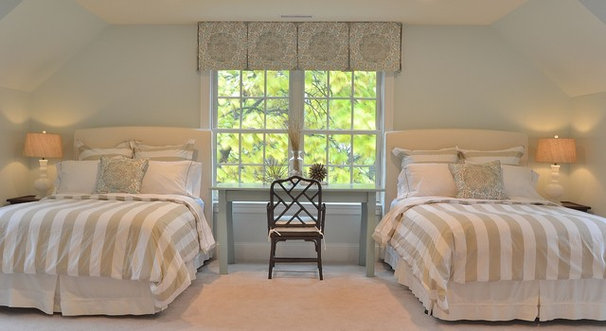 Traditional Bedroom by Priscilla Fenlin Interiors