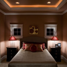 Traditional Bedroom by Custom Home Group