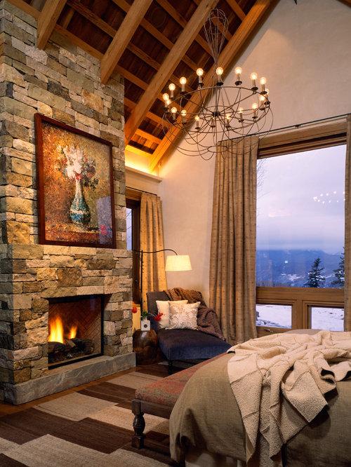 Stone Fireplaces Houzz