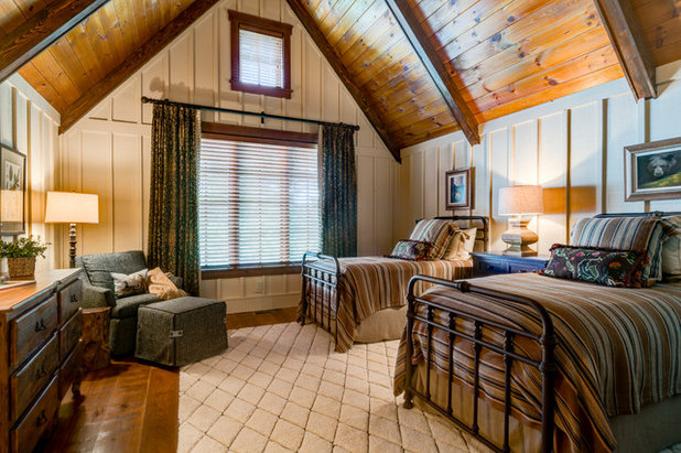 Rustic Bedroom by Dianne Davant and Associates