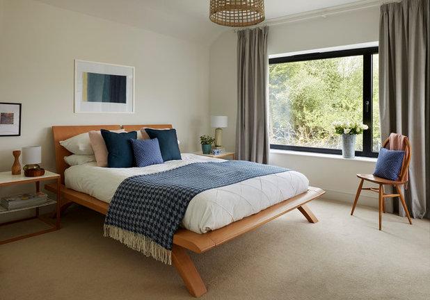 Contemporáneo Dormitorio by EB Interiors