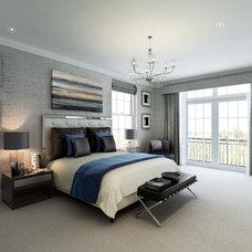 Contemporary Bedroom by CID Interieur