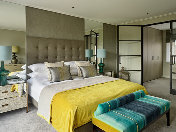 Contemporary Bedroom by Brayer Design