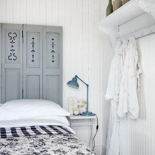 Exempel på ett maritimt sovrum